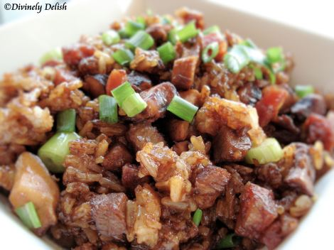 Stir Fried Glutinous Rice