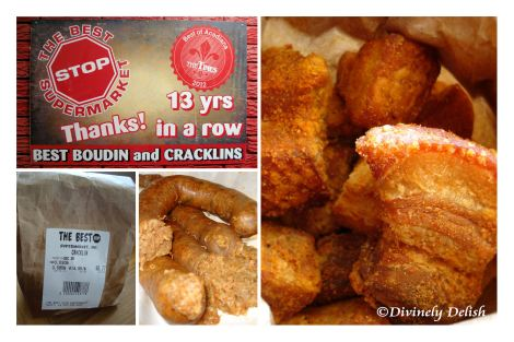 Boudin and Cracklins