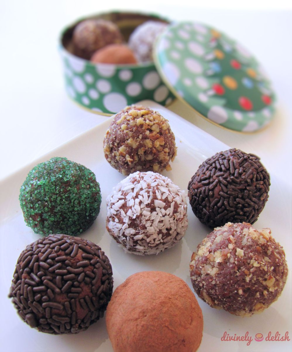 Milk Chocolate Espresso Truffles | Divinely Delish