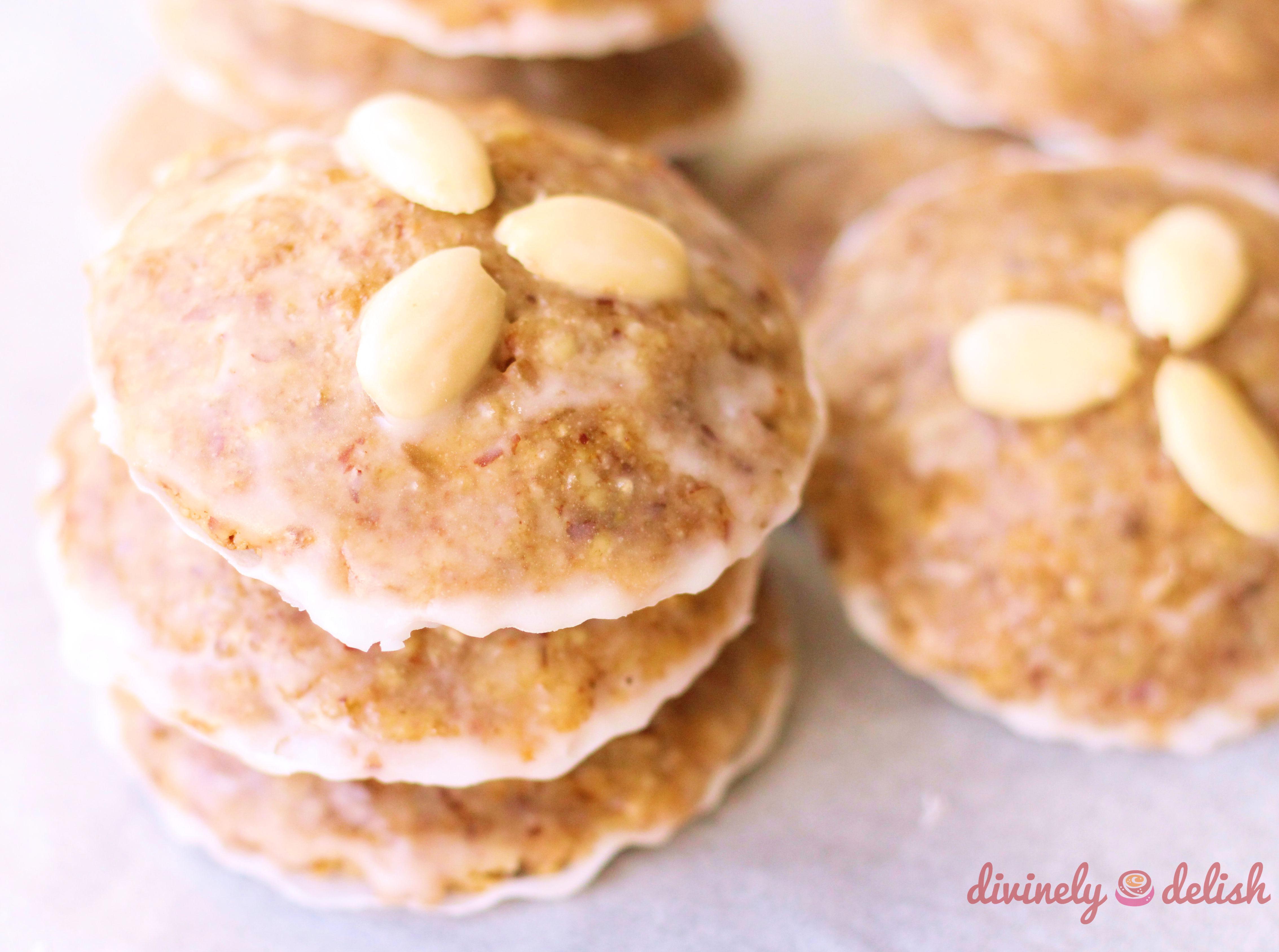 Elisenlebkuchen German Gingerbread Cookies Divinely Delish