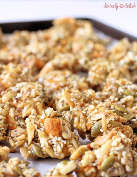 Savoury Seed and Nut Clusters
