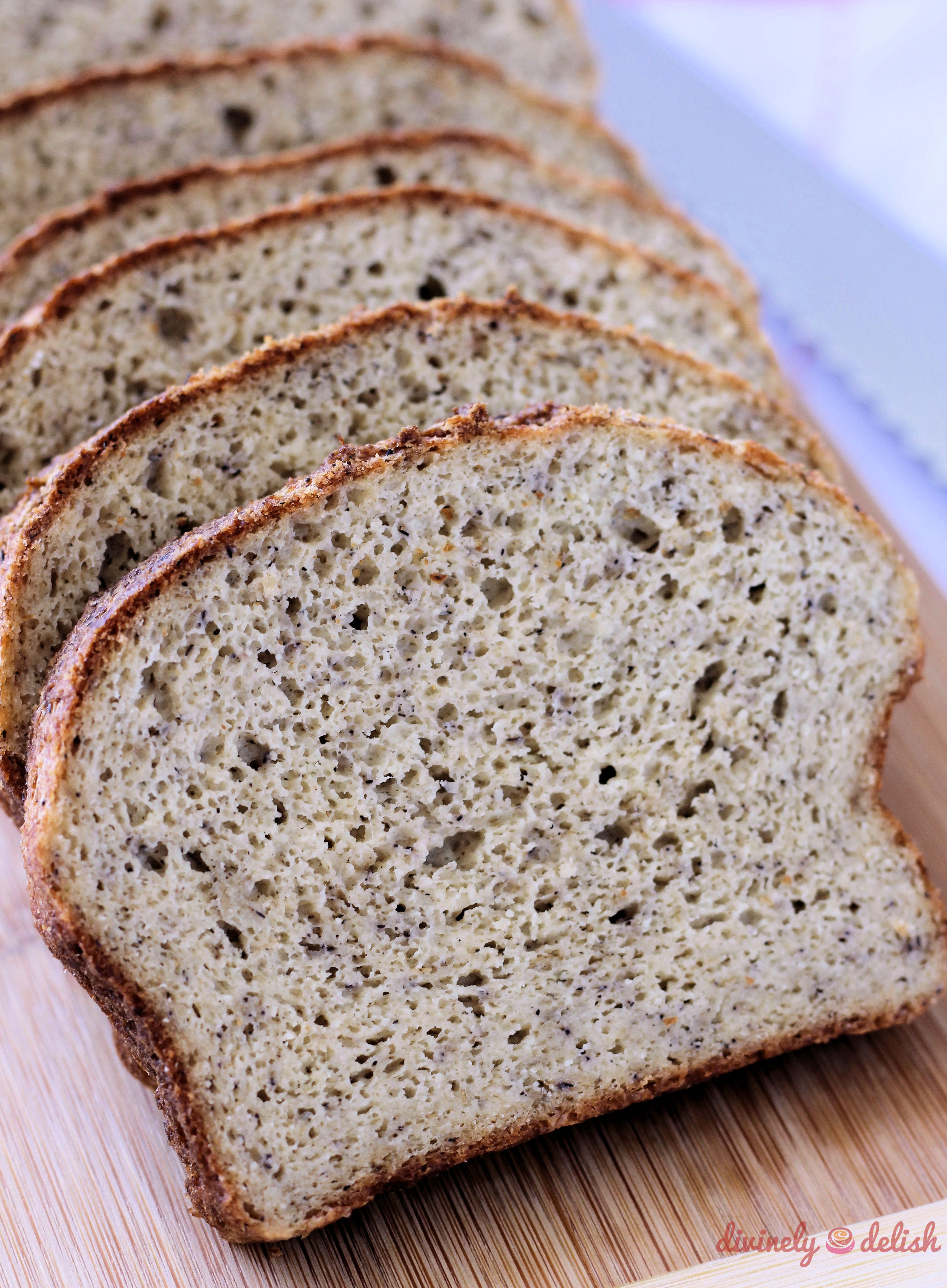 Paleo Low Carb Bread | Divinely Delish