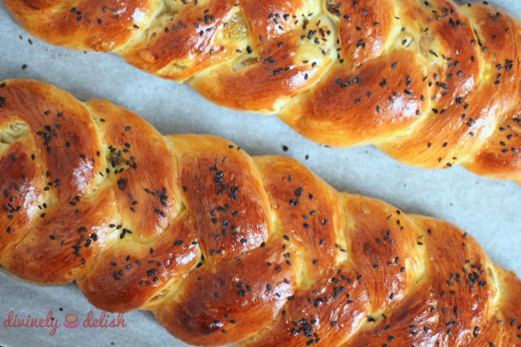 Braided Raisin Bread