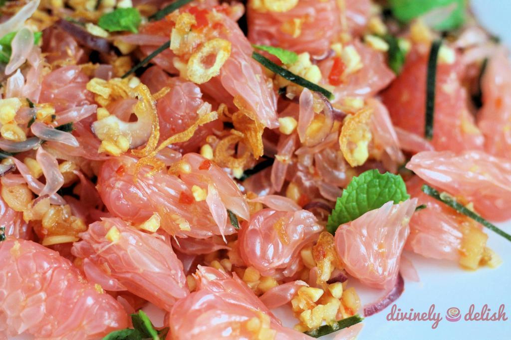 Thai-inspired Pomelo Salad